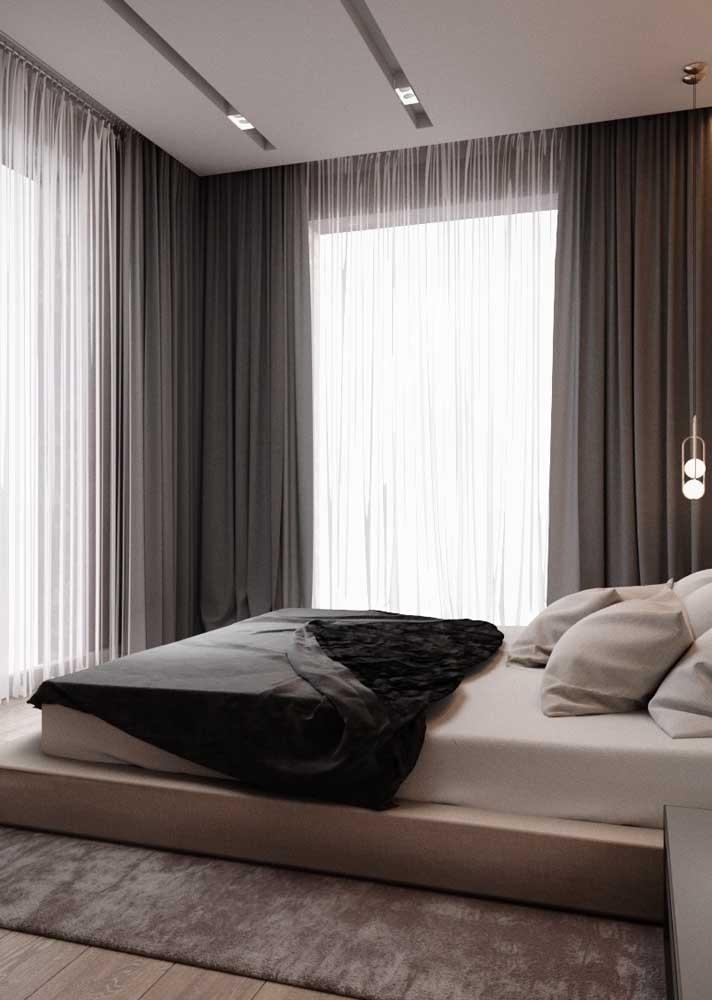 Escolha a cortina de acordo com as suas necessidades
