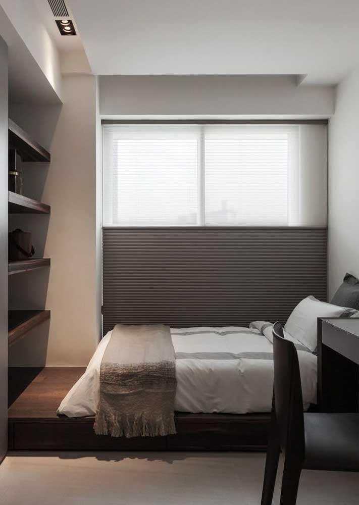 Quanto mais escura a cortina, melhor o bloqueio da luz