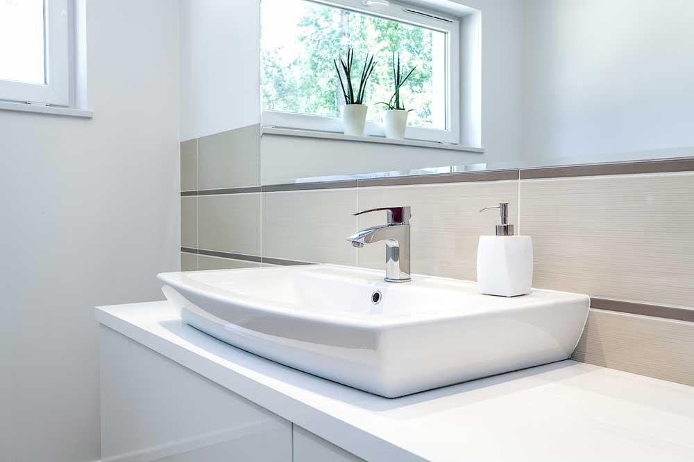 Limpeza de casa: banheiro