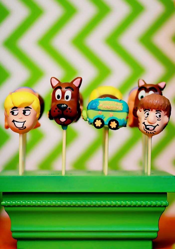 Tag dos personagens Scooby Doo para decorar a festa