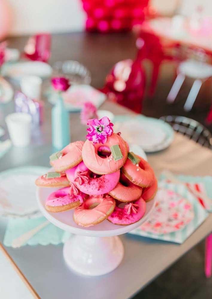Donuts para completar a festa