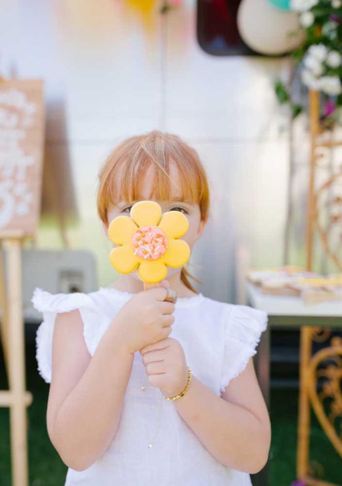 Doces floridos