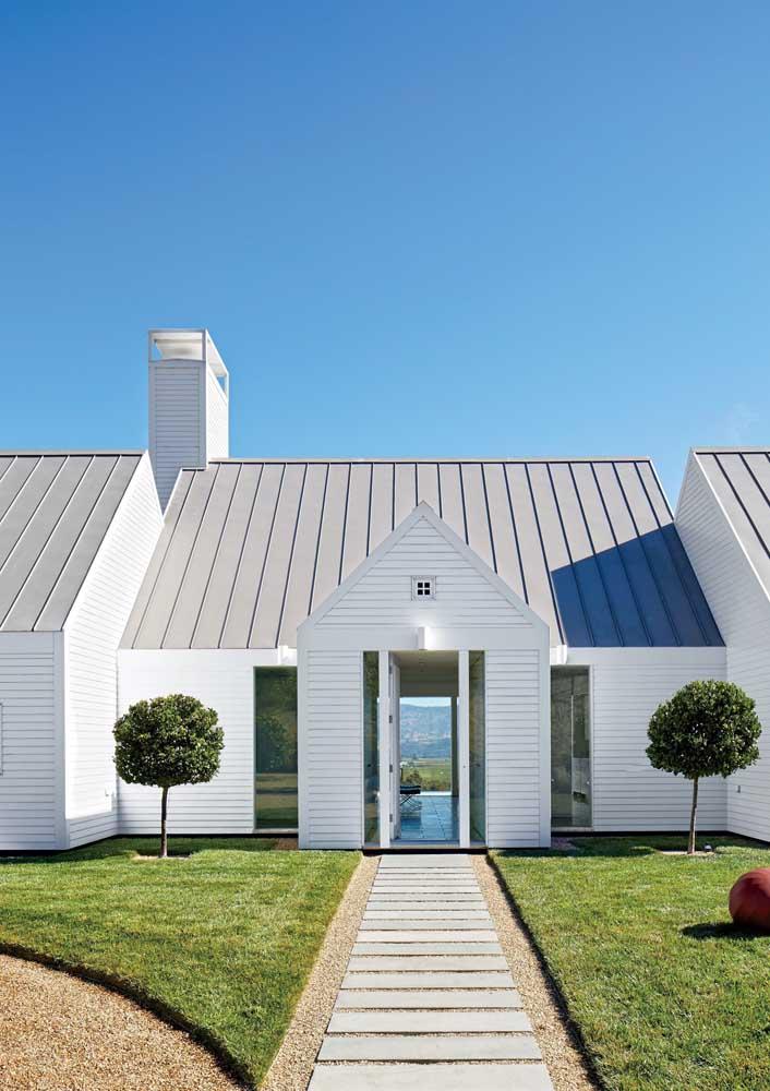 As telhas metálicas só deixam a desejar no quesito térmico e acústico