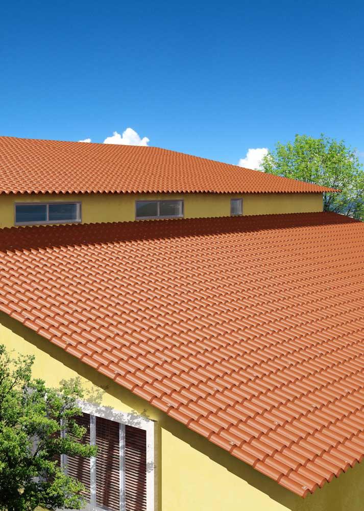 Qualquer semelhança com as telhas de cerâmica não é mera coincidência