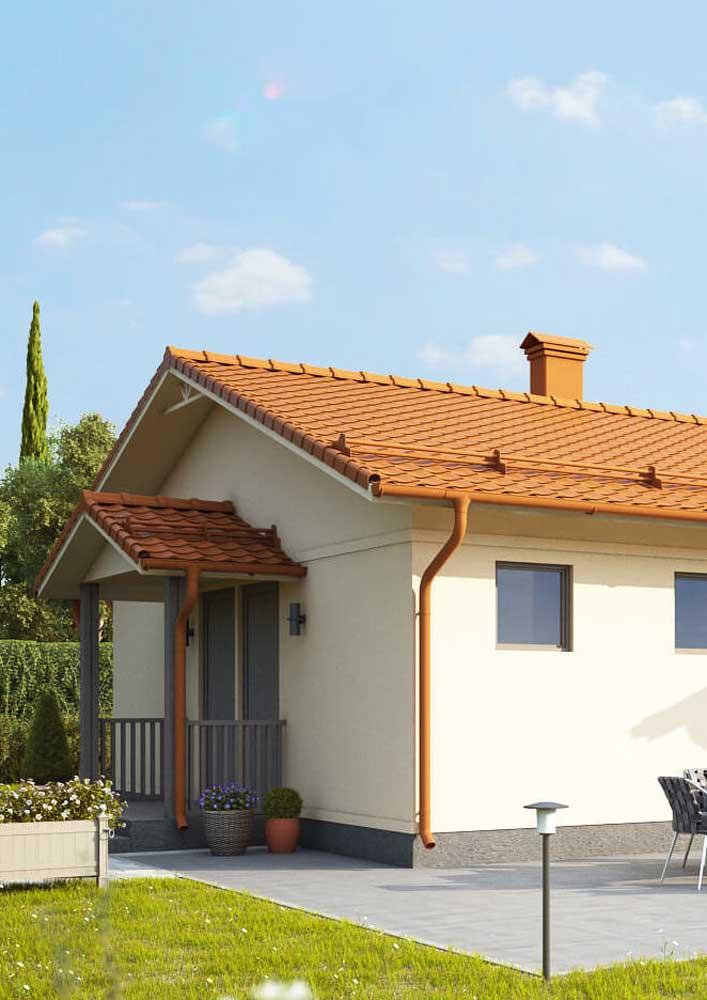 Telhas de PVC para um telhado leve