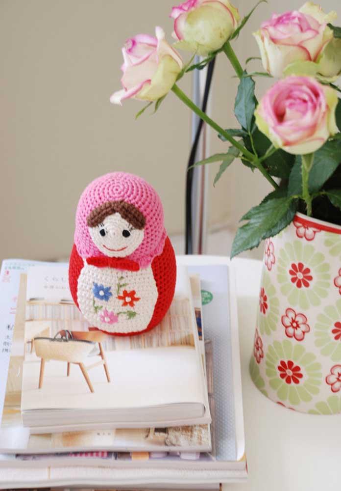 Matrioshkas: as bonecas russas em versão de crochê