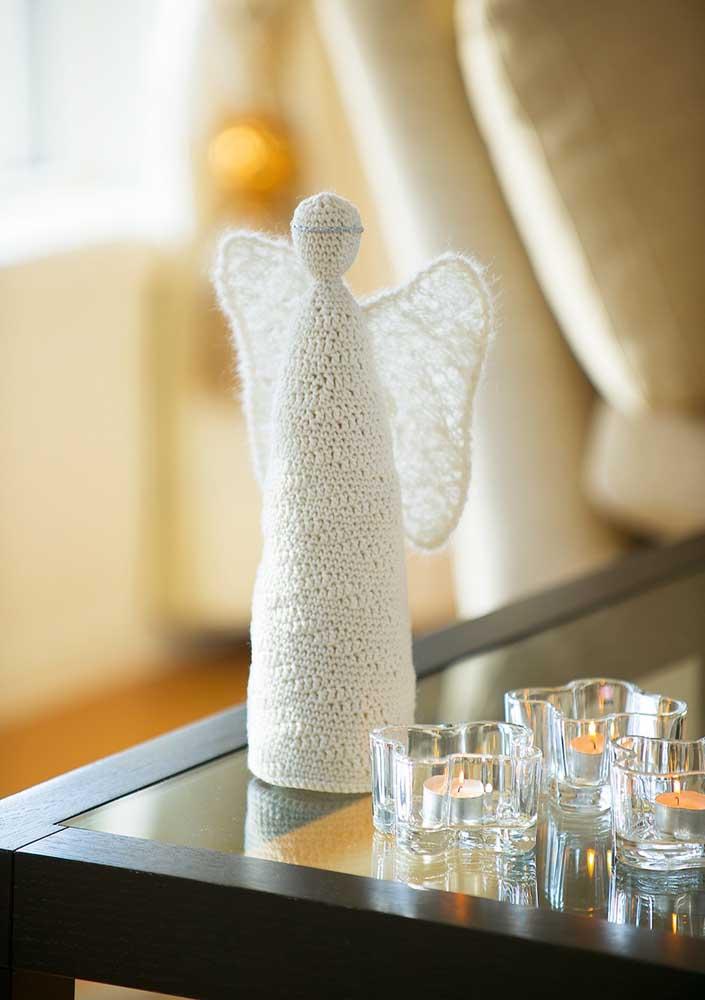 Anjo de crochê: divina inspiração!