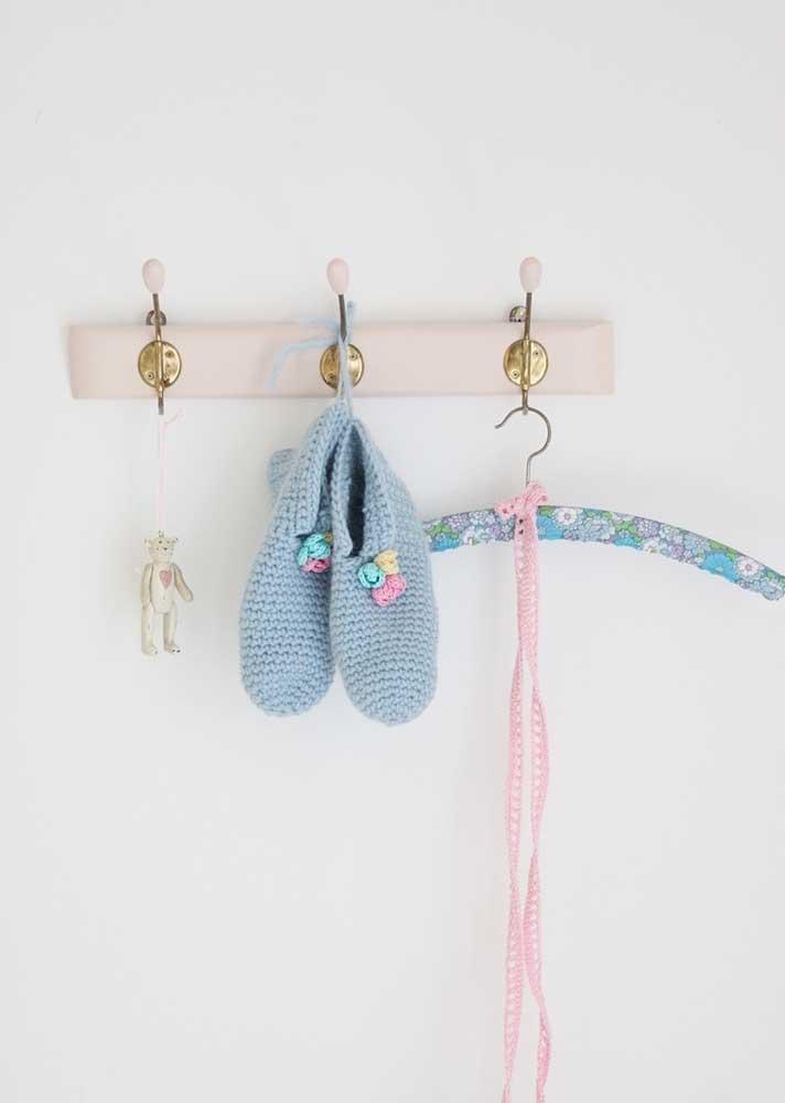 Sapatinhos de crochê: queridinho das futuras mamães