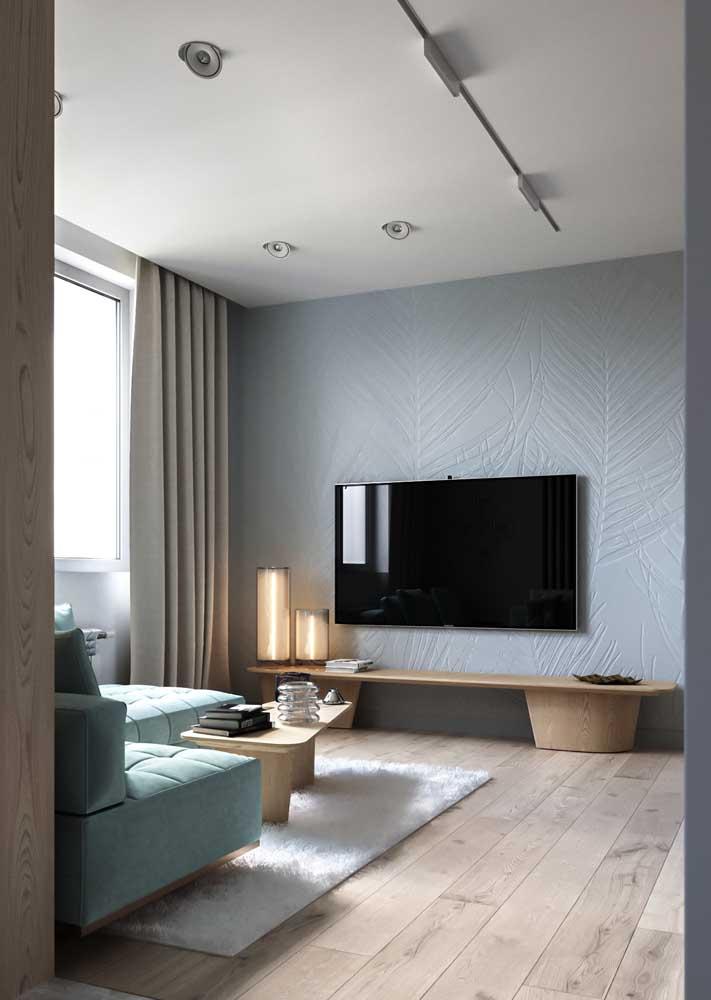 Decoração de sala pequena em estilo minimalista: somente o necessário