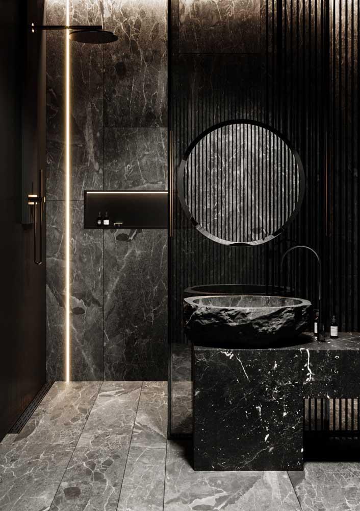 Banheiro decorado de luxo, gostou?