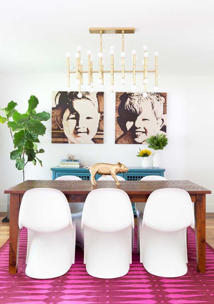 Personalidade e estilo em um único enfeite de mesa