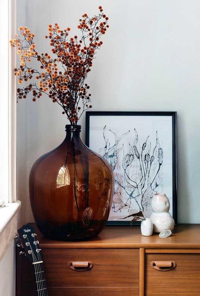 Quadro Tumblr botânico para combinar com o vaso de flores secas