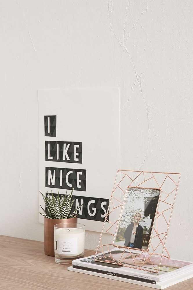 Quadro Tumblr minimalista para trazer leveza a decoração