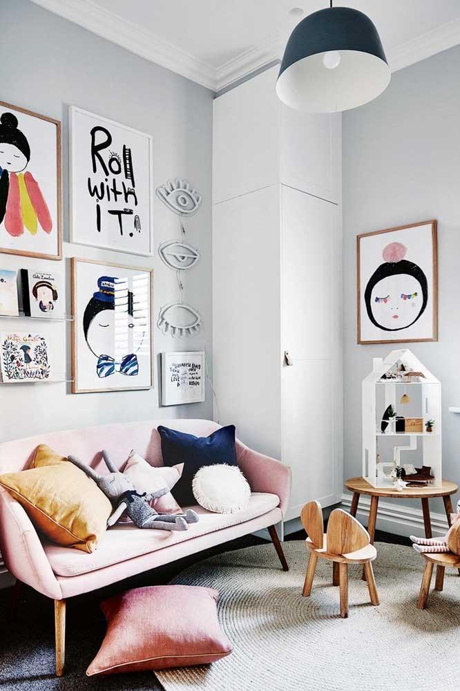 Quadros Tumblr para o quarto: imagens que conversam entre si para uma composição harmoniosa