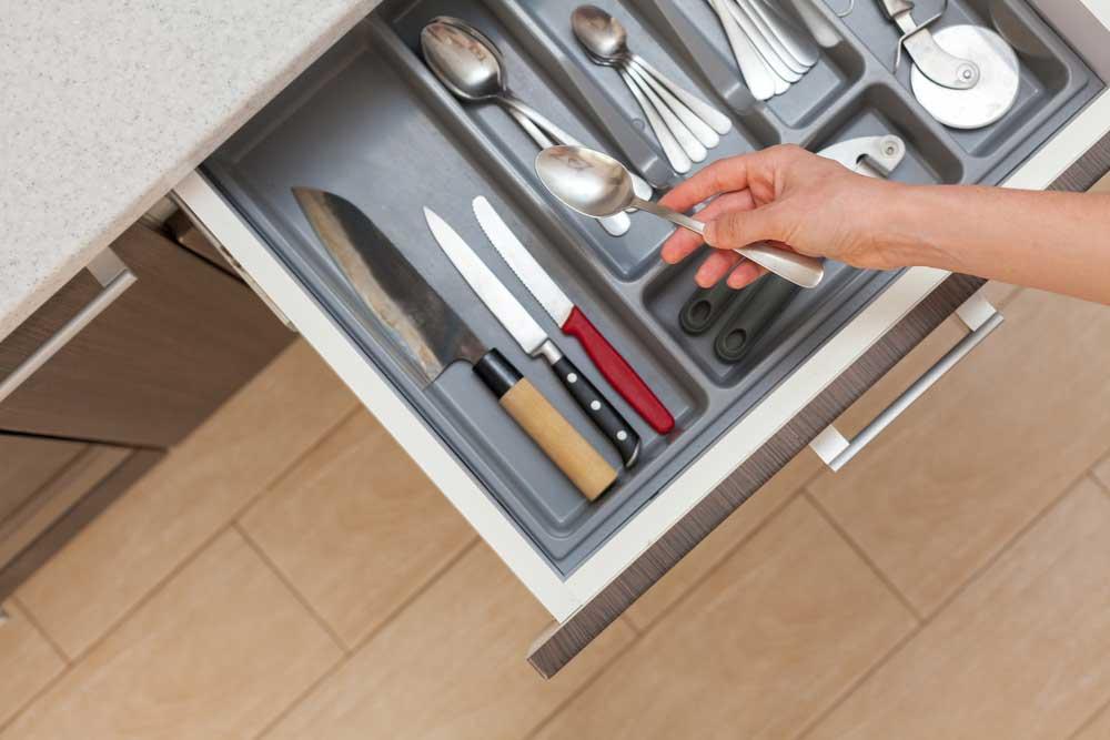 Como Organizar Armario de cozinha