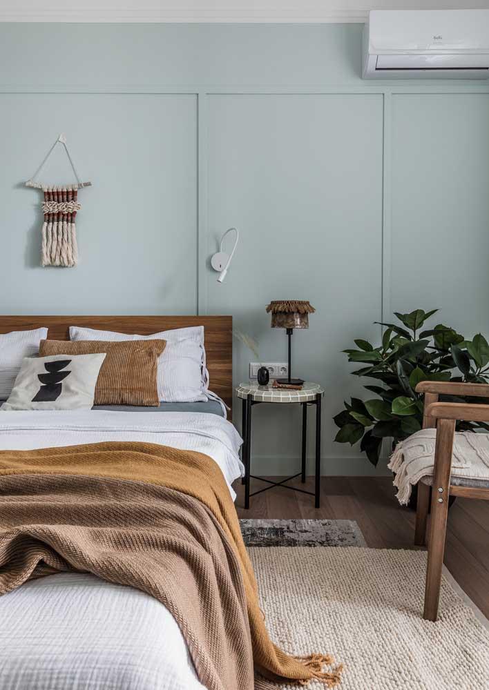 Decoração de quarto de casal boho: aconchegante por natureza
