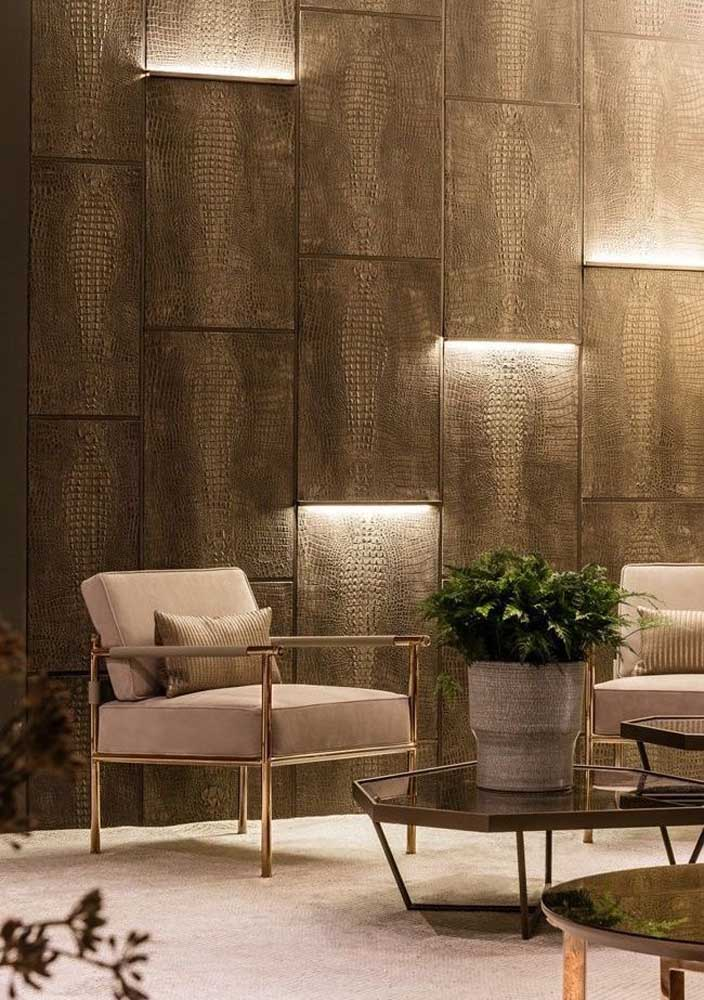 Projeto luminotécnico residencial com luz indireta para trazer aconchego