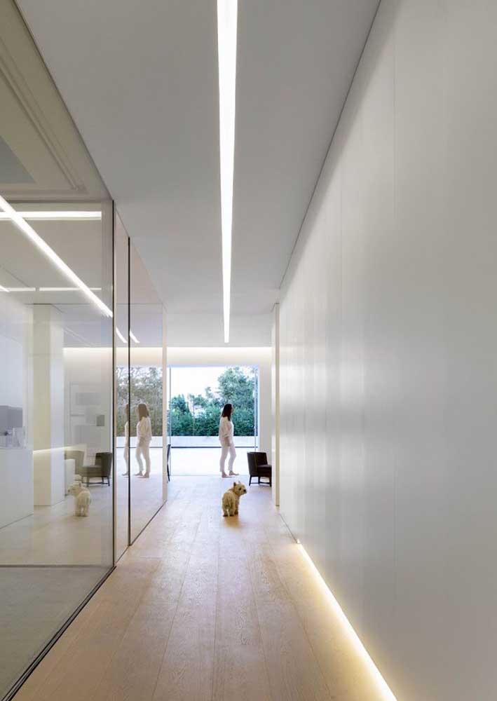 Projeto luminotécnico clean, moderno e minimalista