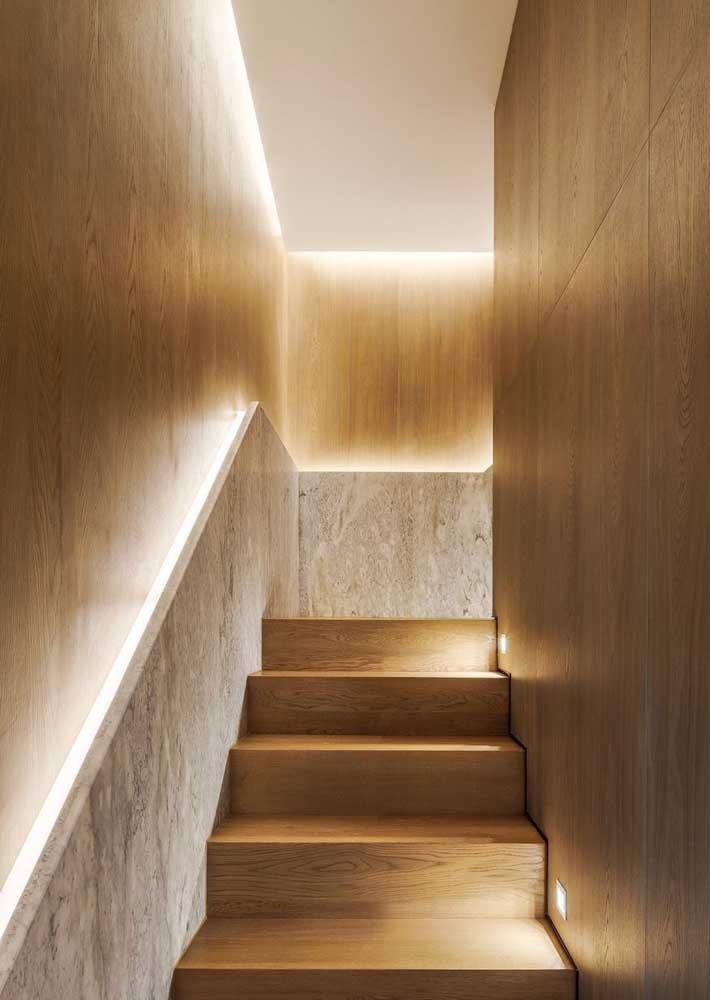 Uma escada receptiva e segura