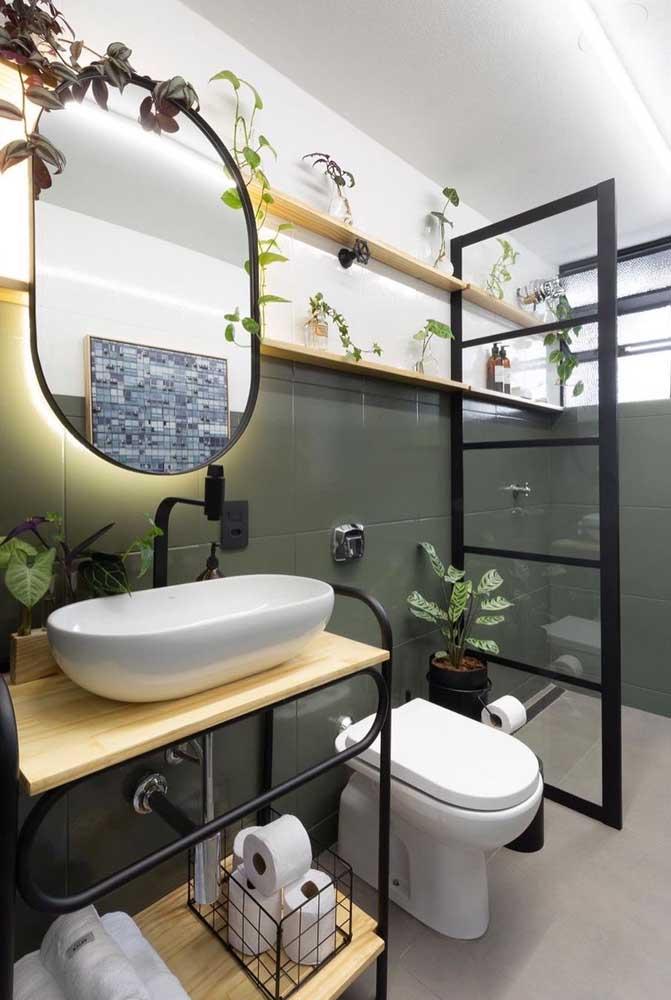 Você não precisa de muito para transformar o seu banheiro. Olha só o que a tinta é capaz de fazer!