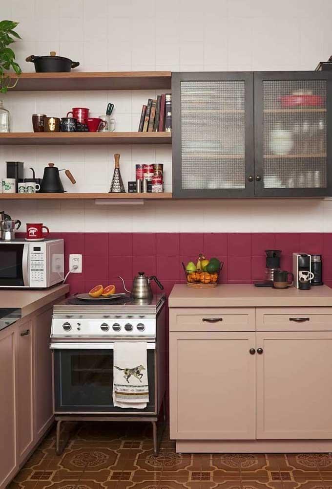 Ouse na escolha das cores e mude a cara da sua cozinha