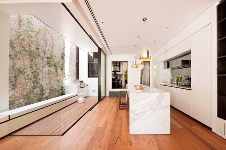 Churrasqueira de inox para o ambiente minimalista moderno