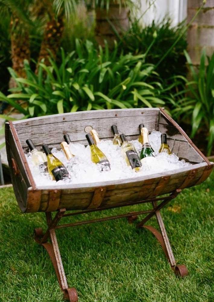 Sirva os vinhos na temperatura ideal