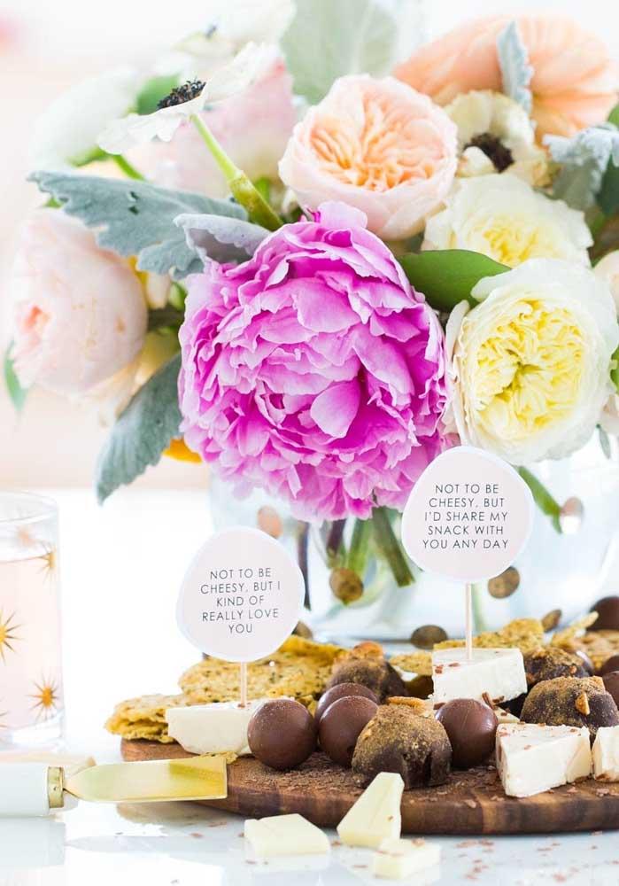 Queijos e chocolate: quem resiste essa dupla?