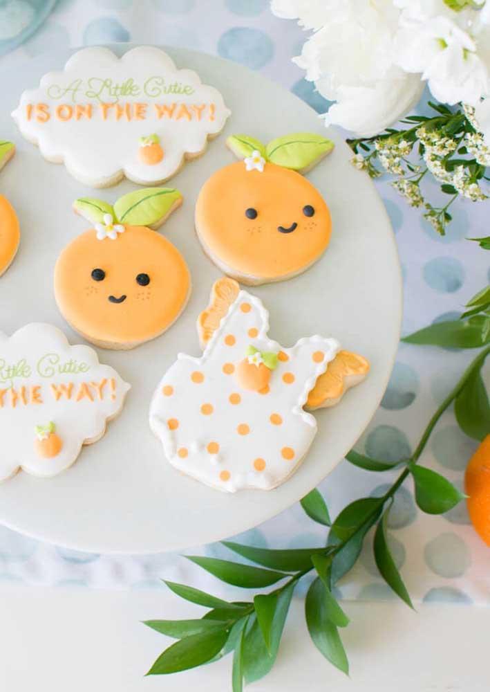 Biscoitinhos decorados para o chá de bebê: você mesmo pode fazer