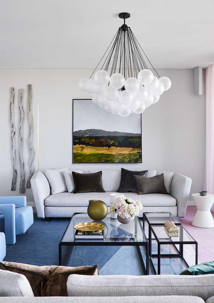 Lustre para sala original e moderno