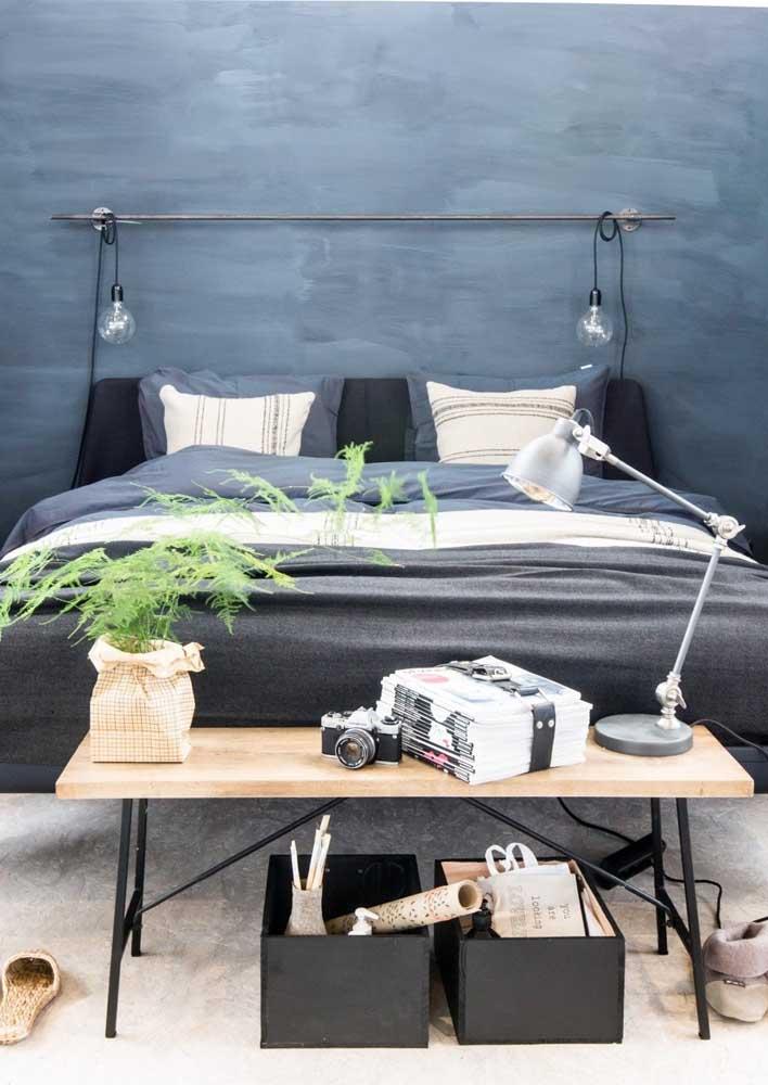 Águas calmas para a cabeceira da cama