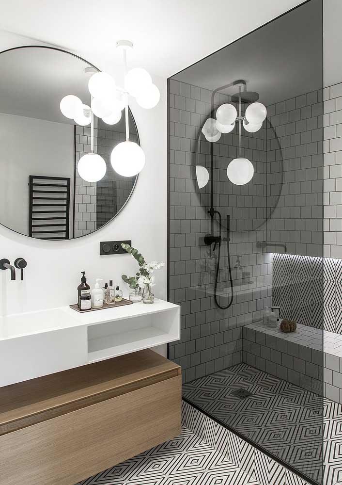 Revestimento de parede moderno para a área molhado do banheiro