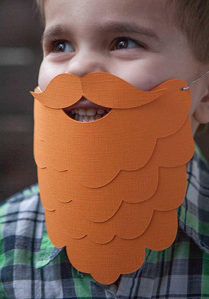 O barba ruiva da festa