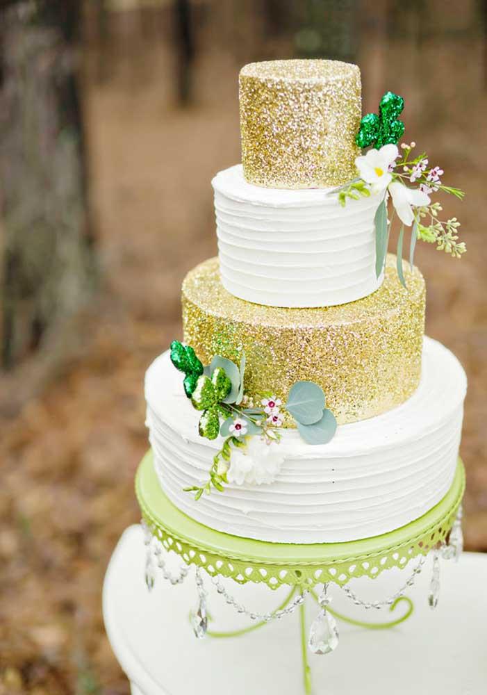Um bolo chiquérrimo para abrilhantar a festa de Saint Patrick