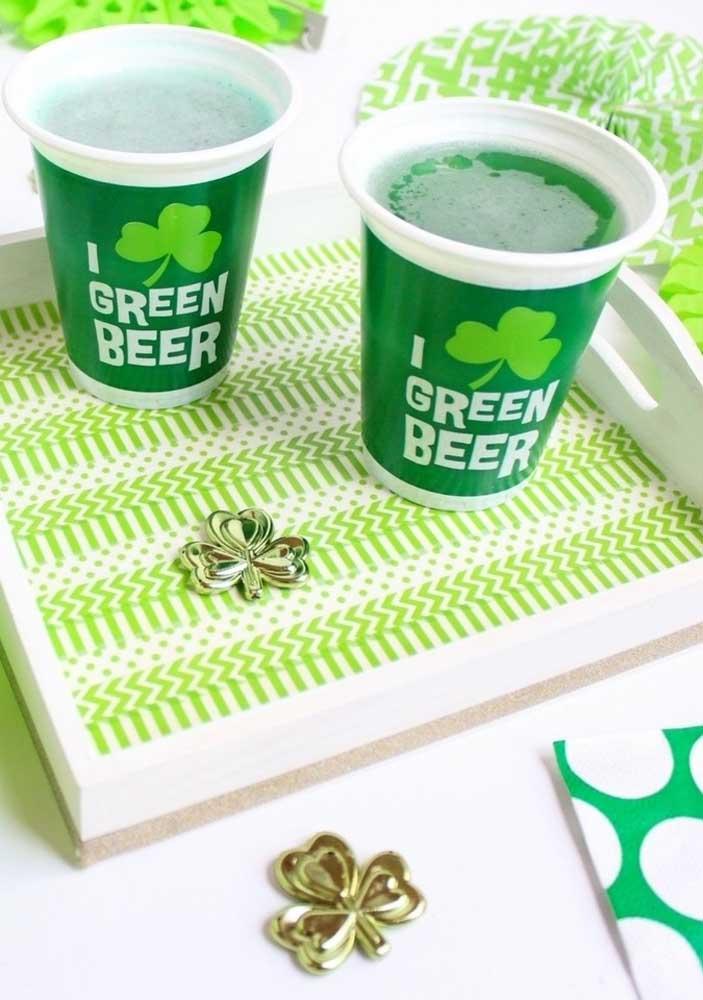 Cerveja verde: um clássico do St. Patrick's Day