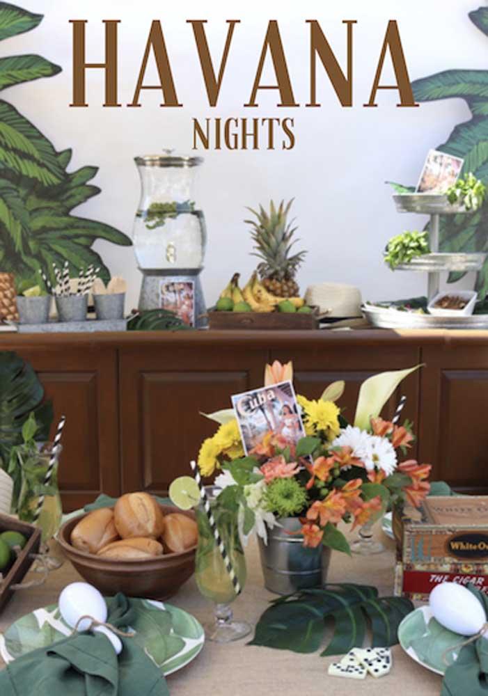 Tema de aniversário Havana: diversão em ritmo latino