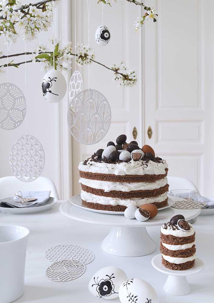 Bolo e mini bolo de páscoa: escolha o que quiser!
