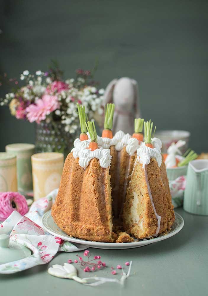 E por falar em tradicional, esse é outro legitimo representante dos bolos de páscoa