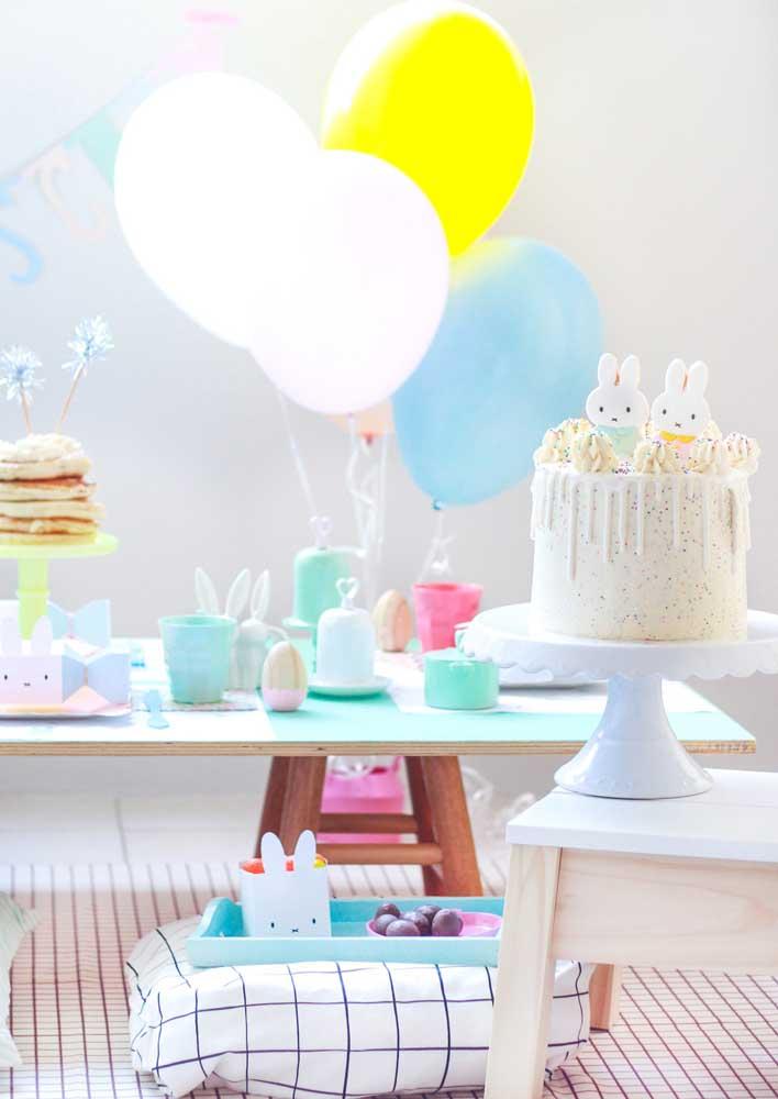 Que tal agora apostar em um bolo de páscoa lúdico e infantil?