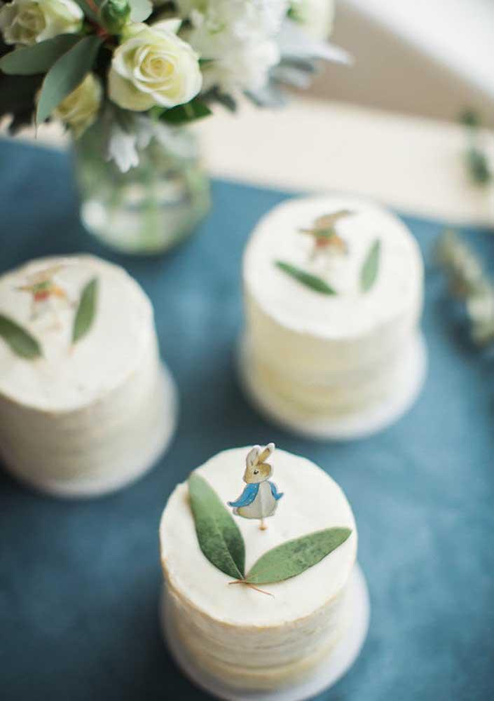 Mais uma super inspiração de mini bolo de páscoa