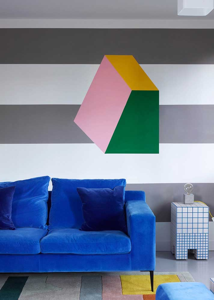 Dicas de decoração para sala: solução simples apenas com o uso de cores