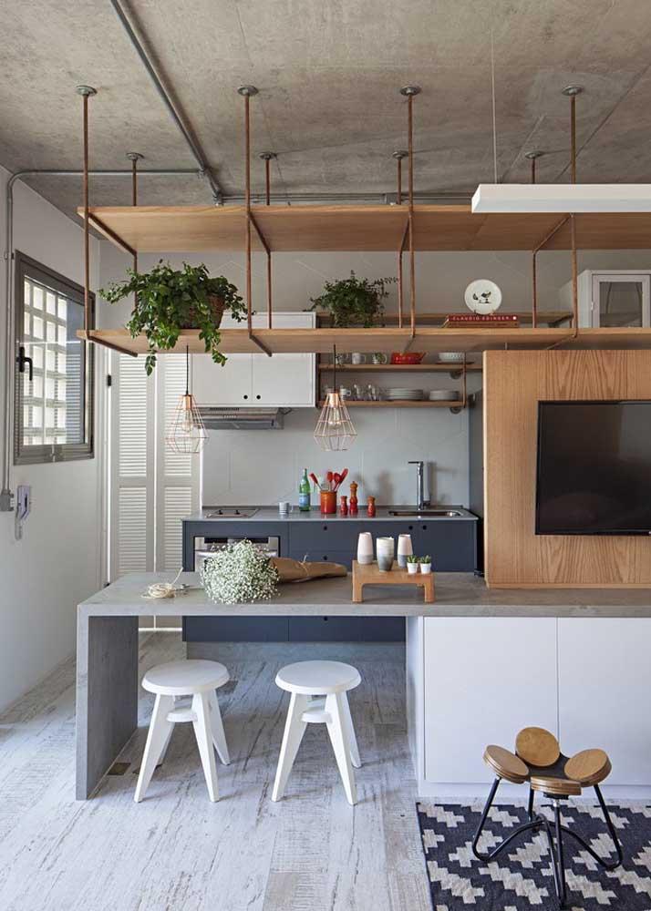Cores neutras e claras para a cozinha
