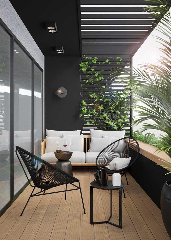 Dicas de decoração para área externa: móveis e cores modernas