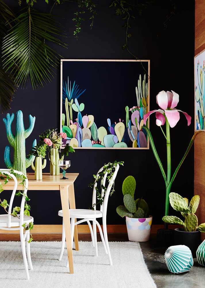 As plantas! Elas deixam tudo mais leve e bonito