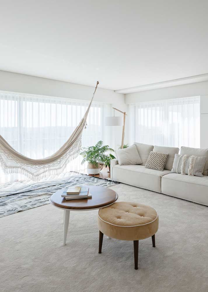 Para ampliar os ambientes use cores claras