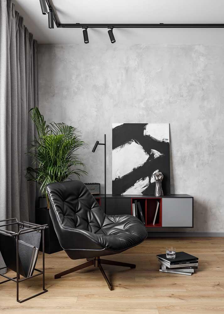 A boa e velha decoração em branco e preto que sempre funciona