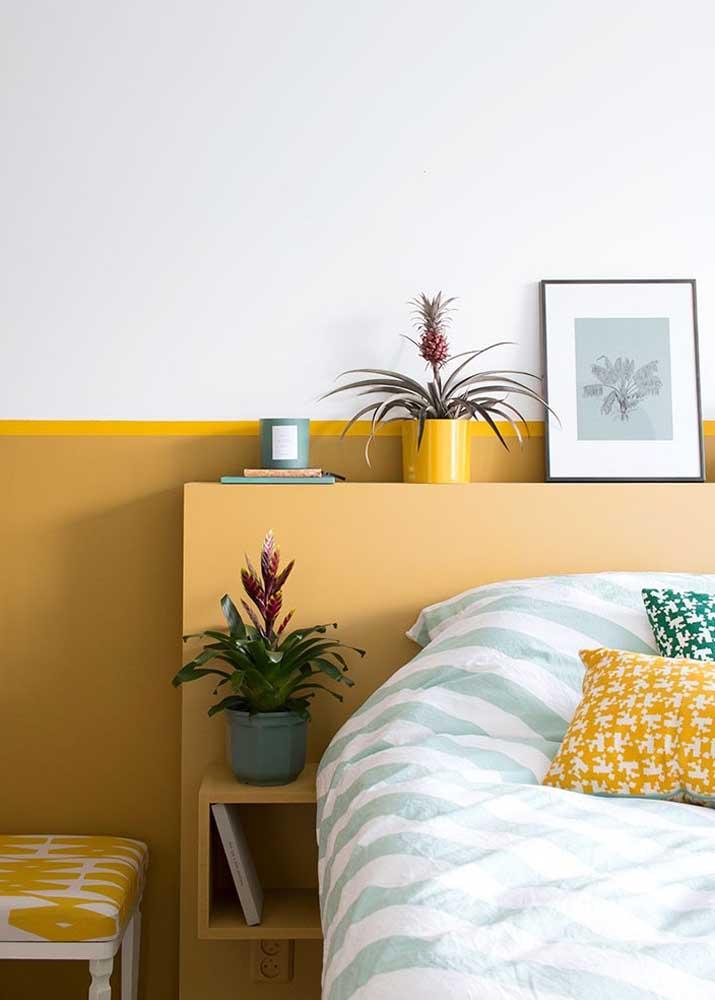 A meia parede é uma dica de decoração simples e barata