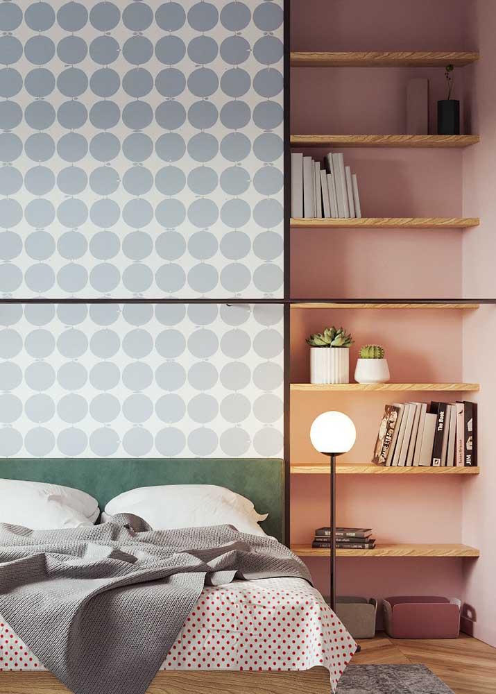 Aproveite o espaço vertical no projeto dos móveis planejados para quarto