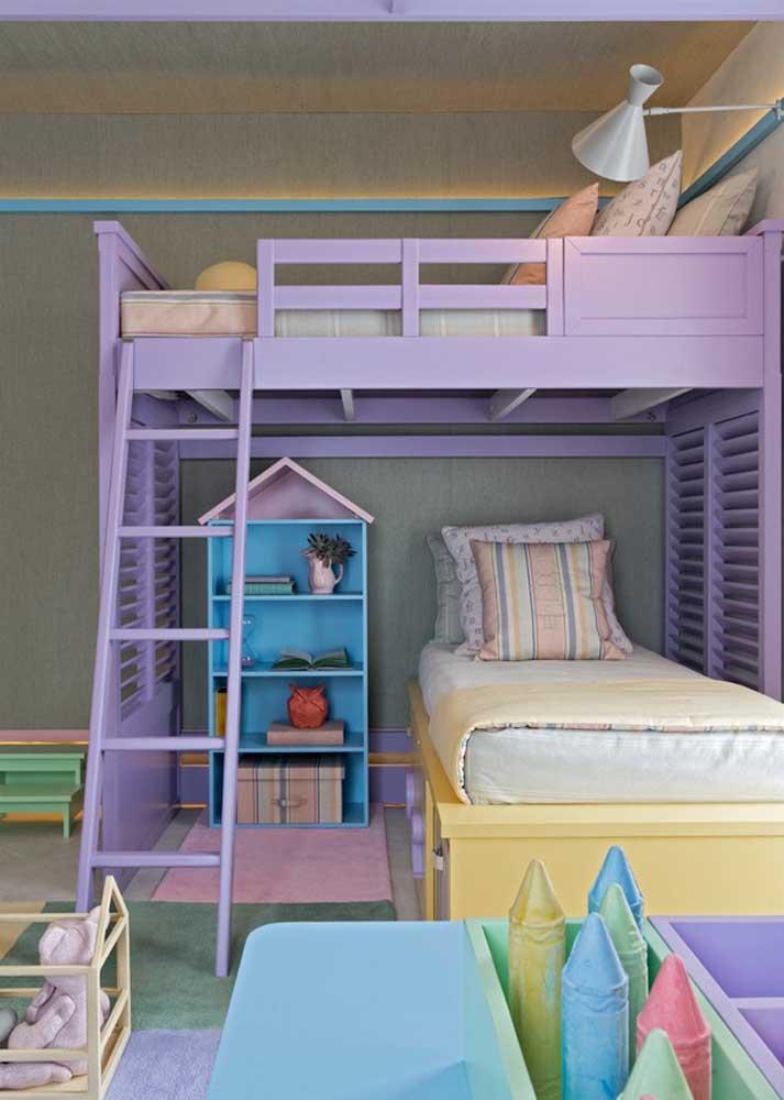 Móveis planejados para quarto infantil: cores e ludicidade no projeto