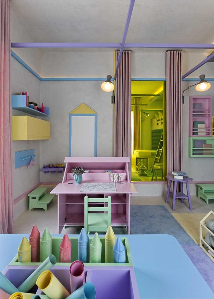 O espaço para brincar é fundamental no quarto infantil planejado